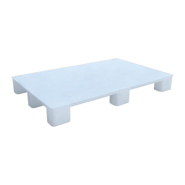 Hijyenik Plastik Palet 80x130cm beyaz kapalı kızaksız