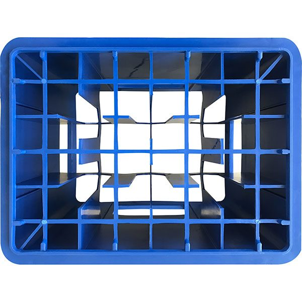 seperatörlü içecek kasası mavi taban